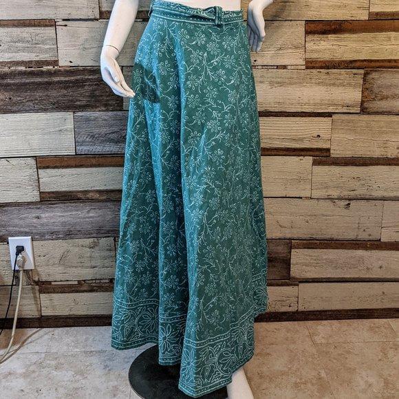 Dresses & Skirts - Boho Hippie Cotton Wrap Skirt OS